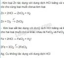 Bài 1 trang 96 SGK Hóa học 10