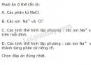 Bài 2 trang 59 SGK Hóa học 10