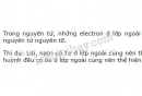Bài 3 trang 30 SGK Hoá học 10
