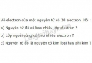 Bài 4 trang 30 SGK Hoá học 10