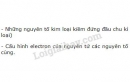 Bài 4 trang 41 SGK Hóa học 10