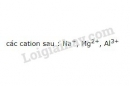 Bài 5 trang 60 SGK Hóa học 10