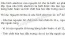 Bài 7 trang 30 SGK Hoá học 10