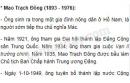Tìm hiểu những nét lớn về cuộc đời hoạt động của Mao Trạch Đông và M. Gan-đi.