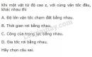 Bài 2 trang 141 SGK Vật lí 10
