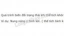 Bài 1 trang 162 SGK Vật lí 10