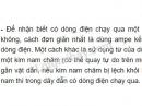 Bài 2 trang 44 SGK Vật lí 11