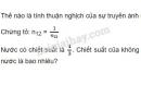 Bài 4 trang 166 SGK Vật lí 11