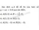 Bài 2 trang 42 SGK Đại số 10