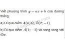 Bài 3 trang 42 SGK Đại số 10