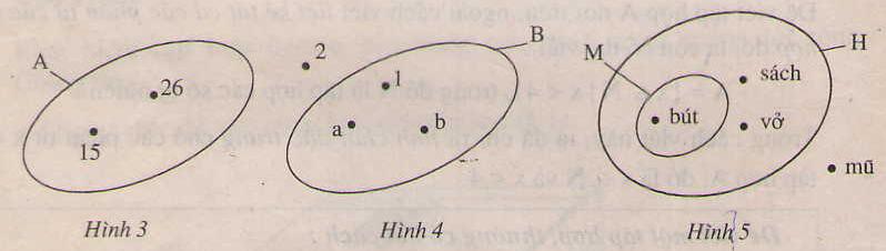 Hình 3, 4 ,5 bài tập 4 trang 6 SGK Số học 6
