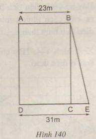 Hình 140 bài 26 trang 123 SGK Toán lớp 8 Tập 1
