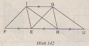 Hình 142 bài 28 trang 125 SGK Toán lớp 8 Tập 1