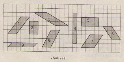 Hình 144 bài 31 trang 126 SGK Toán lớp 8 Tập 1