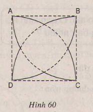 Hình 60 bài 9 trang 101 SGK Toán lớp 9 Tập 1