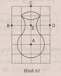 Hình 61 bài 9 trang 101 SGK Toán lớp 9 Tập 1