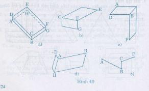 Hình 40 bài 20 trang 108 SGK Toán 8 Tập 2