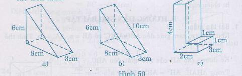 Hình 50 bài 30 trang 114 SGK Toán 8 Tập 2