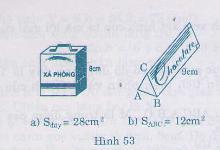 Hình 53 bài 34 trang 115 SGK Toán 8 Tập 2