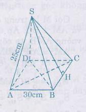 Hình bài 40 trang 121 SGK Toán 8 Tập 2