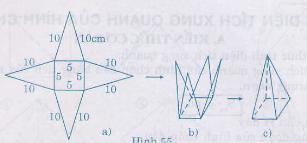 Hình 55 bài 41 trang 121 SGK Toán 8 Tập 2