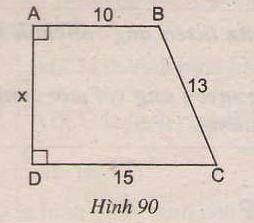 Hình 90 bài 63 trang 99 SGK Toán lớp 8 Tập 1
