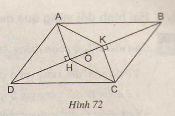 Hình 72 bài 47 trang 92 SGK Toán lớp 8 Tập 1