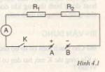 Chương  1. Đoạn mạch nối tiếp – Hướng dẫn giải bài tập  1, 2, 3, 4, 5 trang  13  SGK Vật Lý lớp 9