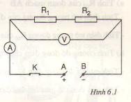 Chương  1. Bài tập vận dụng định luật ôm – công của dòng điện – Hướng dẫn giải bài tập  1, 2, 3 trang  17,18  SGK Vật Lý lớp 9