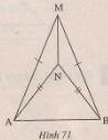 Hình 71 bài 18 trang 114 SGK Toán 7 Tập 1
