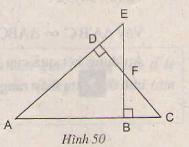 Hình 50 bài 46 trang 84 SGK Toán lớp 8 Tập 2