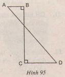 Hình 95 bài 18 trang 117 SGK Toán lớp 9 Tập 24