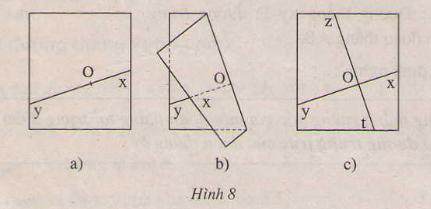 Hình 8 bài 15 trang 86 SGK Toán 7 Tập 1