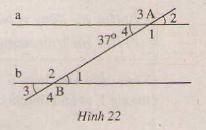 Hình 22 bài 34 trang 94 SGK Toán 7 Tập 1