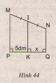 Hình 44 bài 23 trang 80 SGK Toán 8 Tập 1