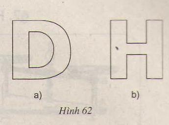 Hình 62 bài 42 trang 88 SGK Toán lớp 8 Tập 1