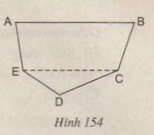 Hình 154 bài 39 trang 130 SGK Toán lớp 8 Tập 1