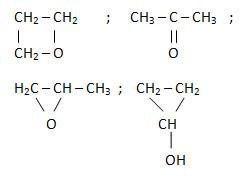 Kết quả hình ảnh cho công thức cấu tạo của C3H8O