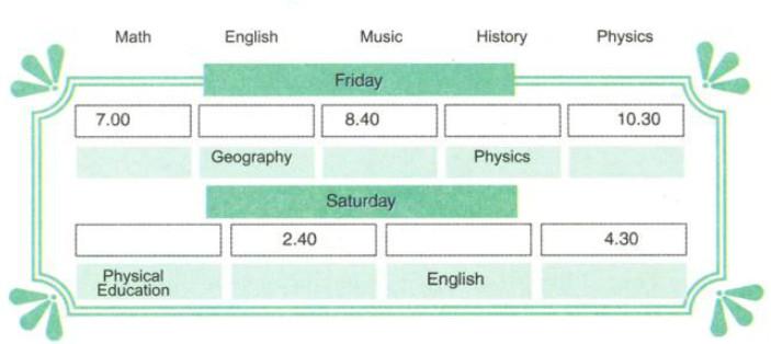 Tiếng Anh 7 (7 năm) lớp 7A2, 7A4 Unit 4-  A3,A5 Cô Ý (Tuần 6- Tiết 16 từ ngày 25/10 đến ngày 30/10/2021)