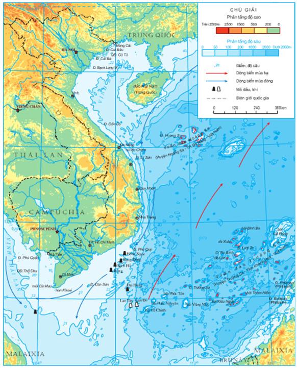 Hay Quan Sat Bản đồ địa Li Tự Nhien Việt Nam Neu Dẫn Chứng Về Mối Quan Hệ đo địa Li Lớp 12