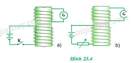 H23.4 bài 23 trang 143 vật lí 11