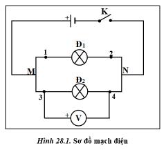 hình 28.1 - bài 28 trang 101,102 VBT vật lí 7