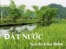 Cảm hứng về đất nước của nhà thơ Nguyễn Khoa Điềm qua phần 1 của đoạn trích Đất nước