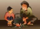 Phân tích đoạn thơ sau trong bài Bếp lửa của Bằng Việt: Tám năm ròng cháu cùng bà nhóm lửa,... Kêu chi hoài trên những cánh đồng xa?...