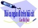 Phân tích đoạn thơ sau trong Sa hành đoản ca của Cao Bá Quát (từ câu: Không học được tiên ông phép ngủ... đến hết bài).