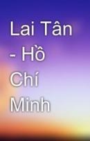 Phân tích bài Lai Tân của Hổ Chí Minh