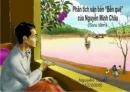 Cảm nhân về truyện Bến quê của Nguyễn Minh Châu.