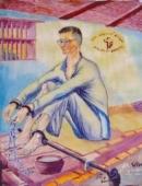 Bình giảng về đoạn văn sau trong truyện ngắn Chữ người tử tù của Nguyễn Tuân: Tiếng trống canh thành phủ gần đấy đã bắt đẩu thu không … nâng đỡ lấy một ngôi sao chính vị muốn từ biệt vũ trụ