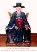 Suy nghĩ về bài thơ  Bảo kính cảnh giới 43 của Nguyễn Trãi