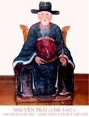 Em hiểu gì về tác gia Nguyễn Trãi?